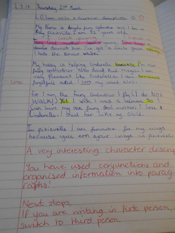 meeting essay examples year 6